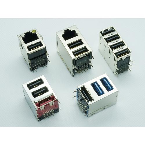 USB Multiport Combo Connectors